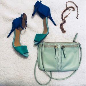 Zara Basic Color Block Heel